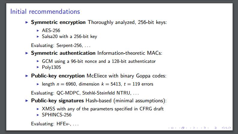 feasibility evaluation of symmetric key encryption