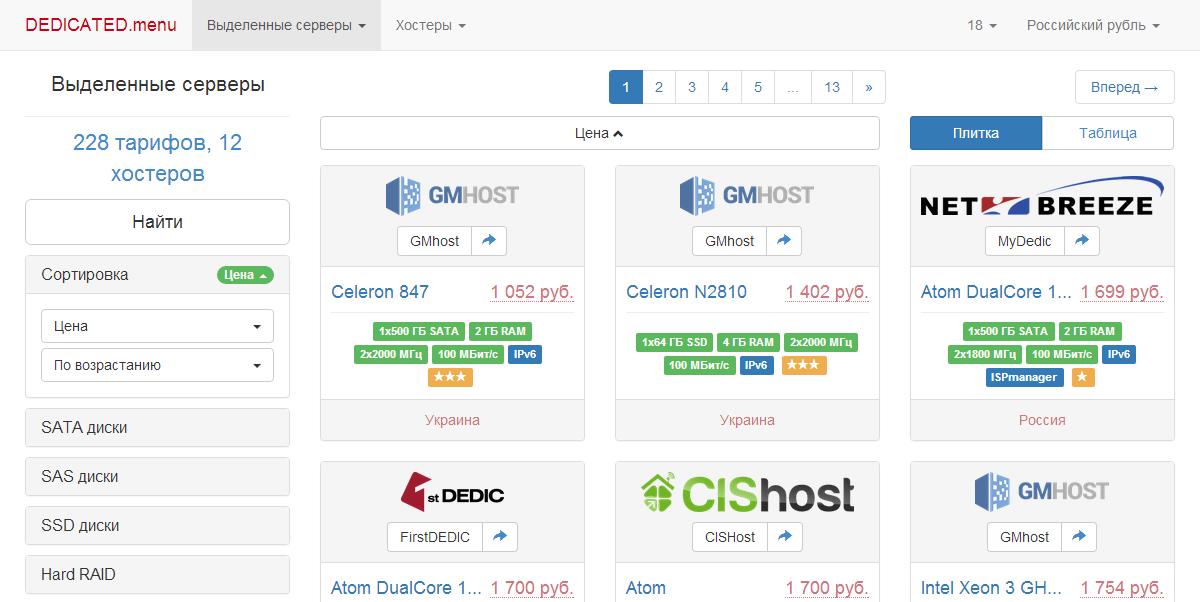 Интересные хостинги домен и хостинг на windows