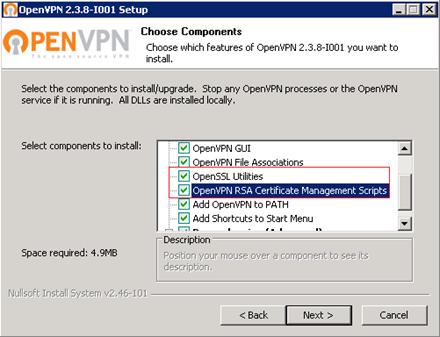 Подробная инструкция по OpenVPN v2.3.8 на Windows server 2008R2