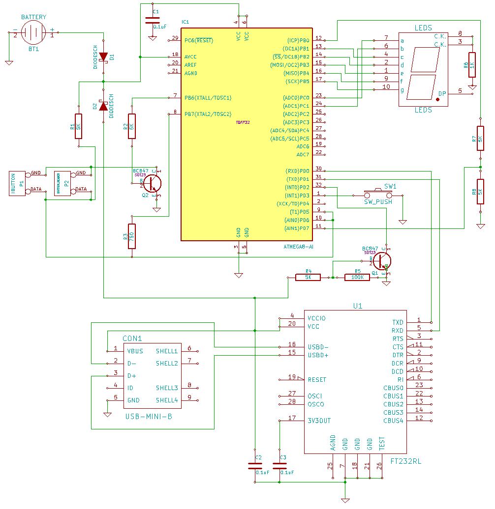 домофонные ключи программатор схема