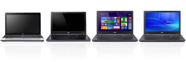 Новые модели ноутбуков ACER