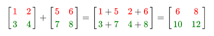 Матричная формула
