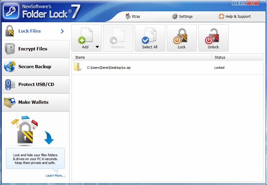 программа для шифрования файлов и папок