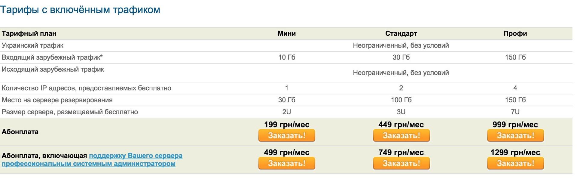 виртуальный хостинг 1c