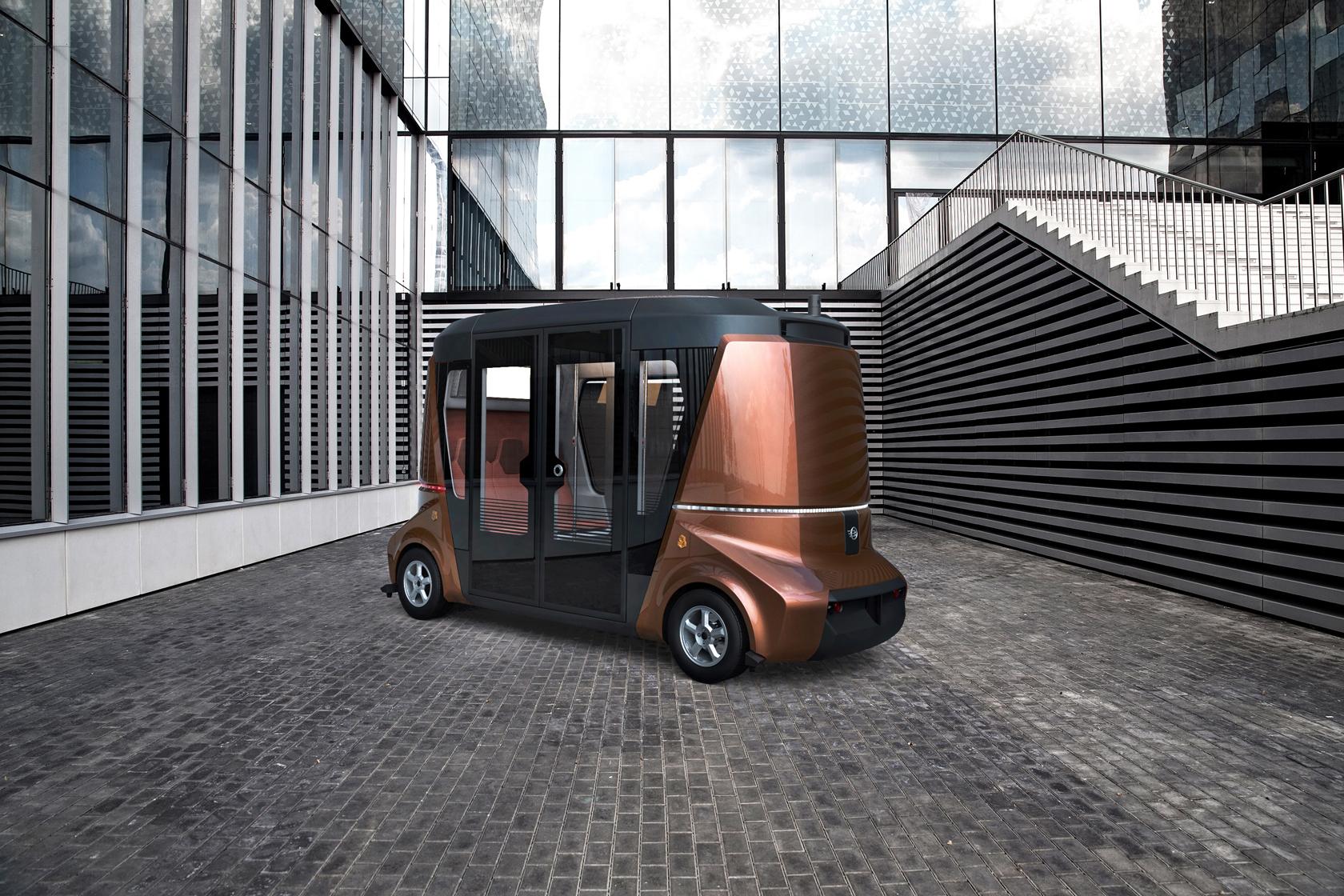 MATRЁSHKA – модульная система беспилотного коммерческого транспорта
