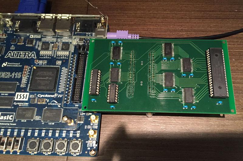 убрать его внутрь FPGA,