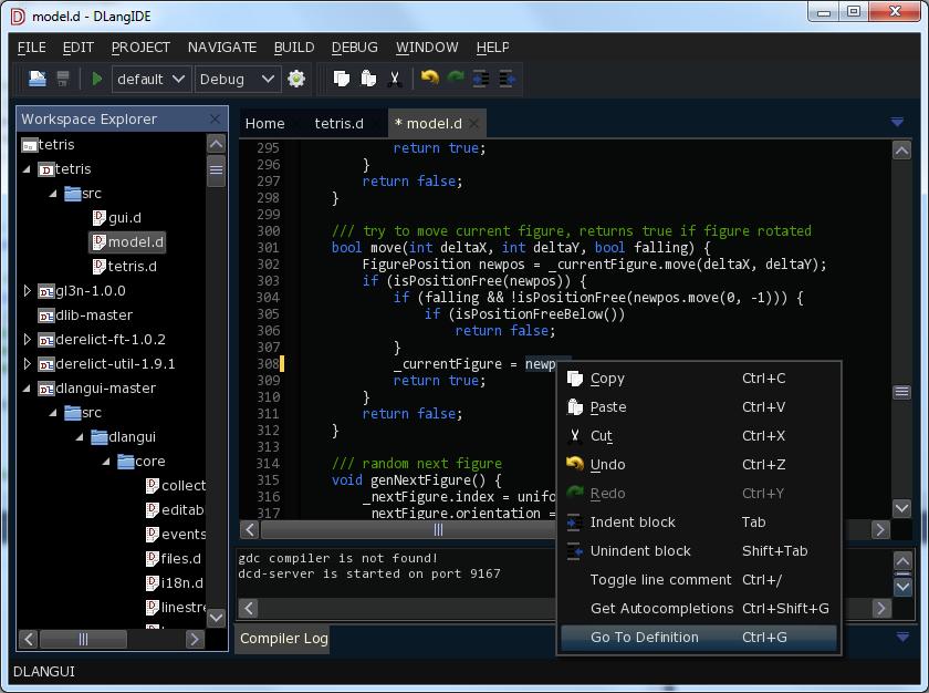 DlangUI — кросплатформенный GUI для D (Часть 1)