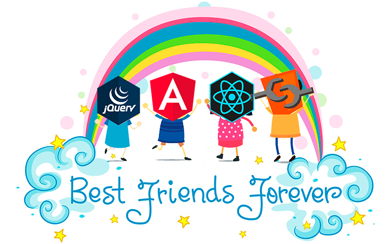 React, Web Components, Angular и jQuery — друзья навеки. Универсальные JavaScript-компоненты