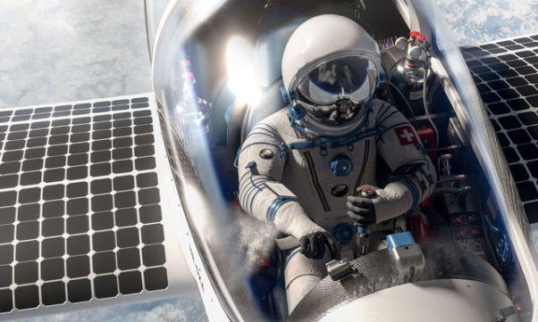 Стратосферный самолёт на солнечных батареях показан миру