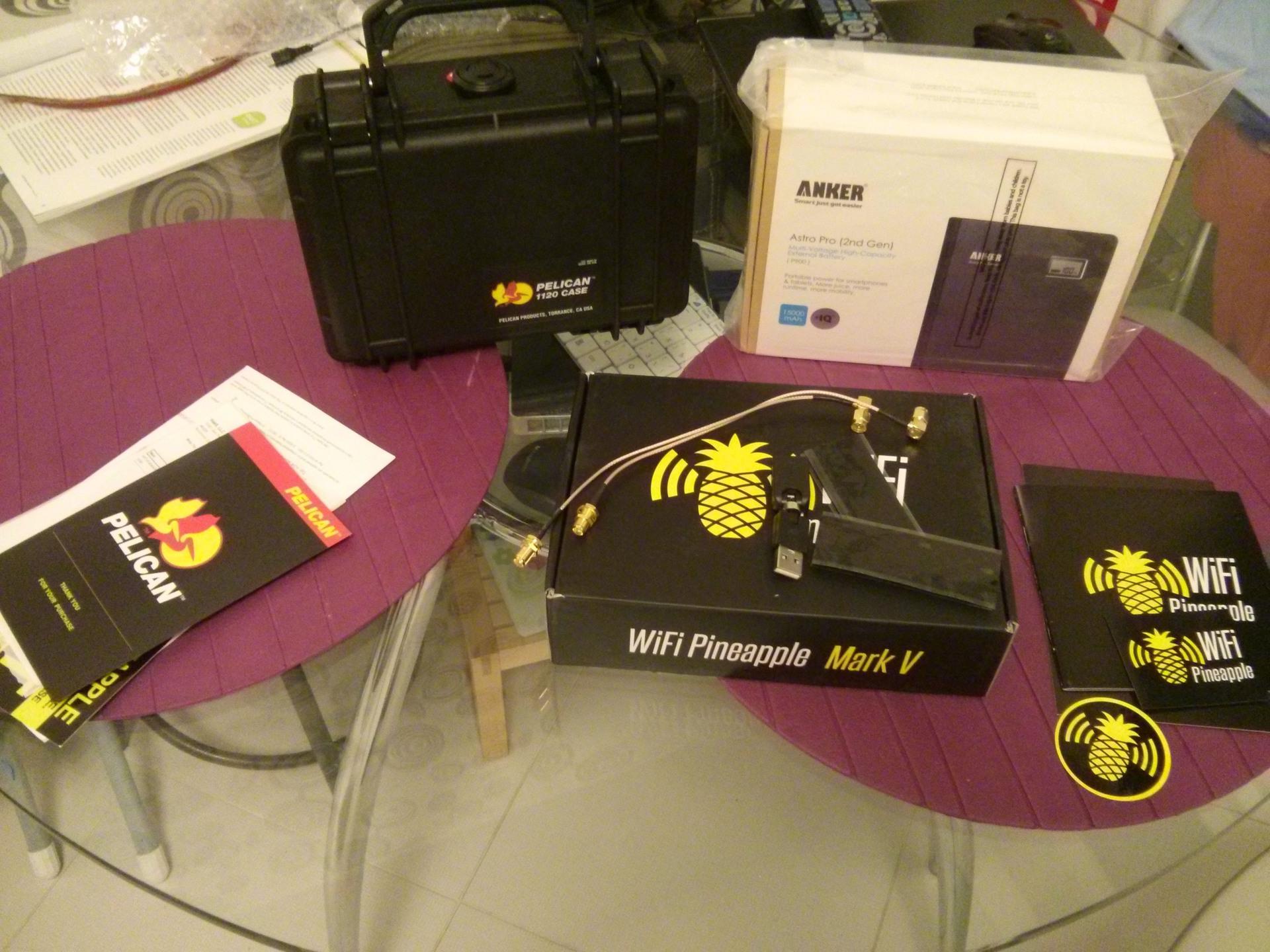 WiFi Pineapple Mark V: черный ящик для беспроводного перехвата