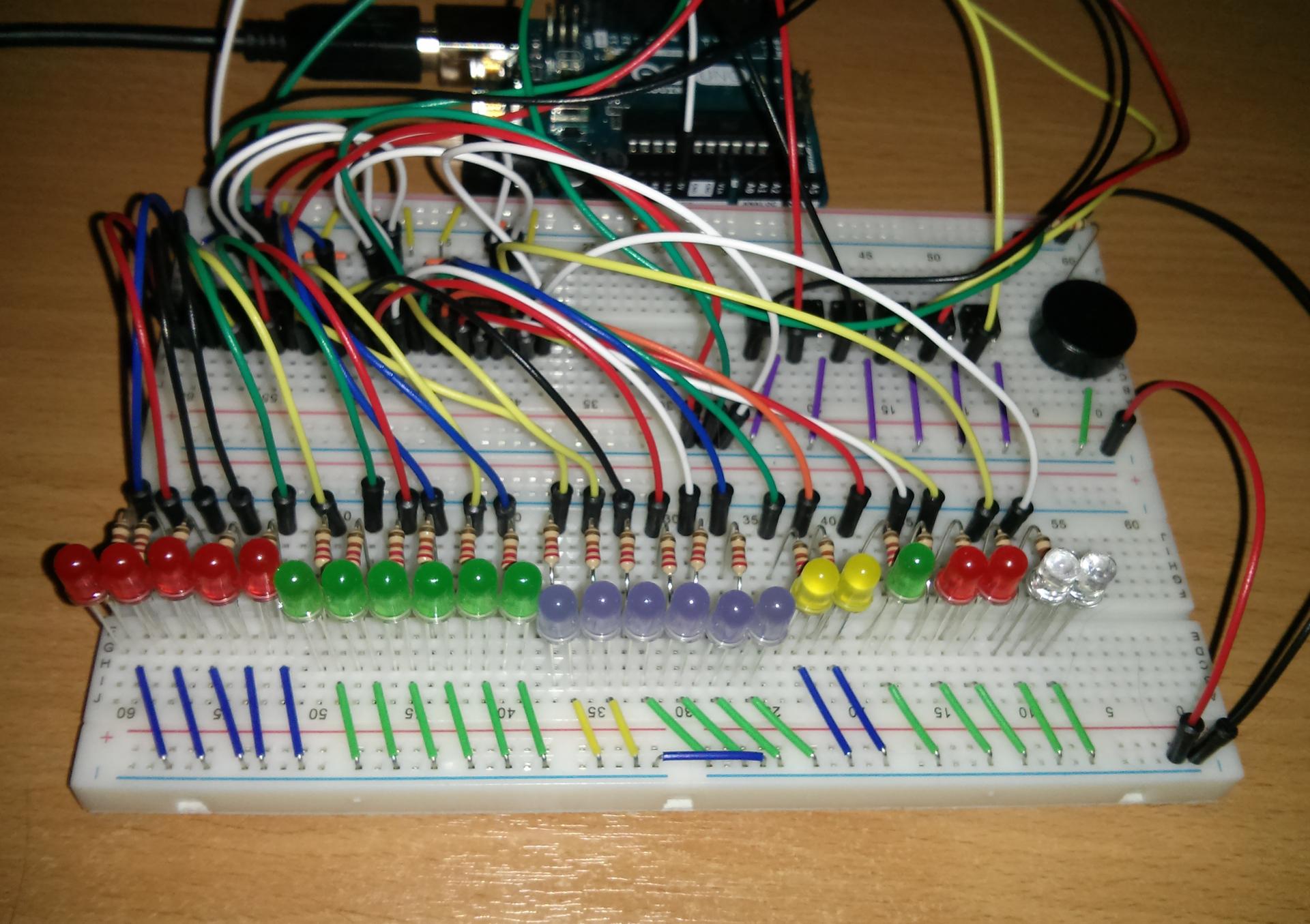 Binary Clock - Arduino for STM32