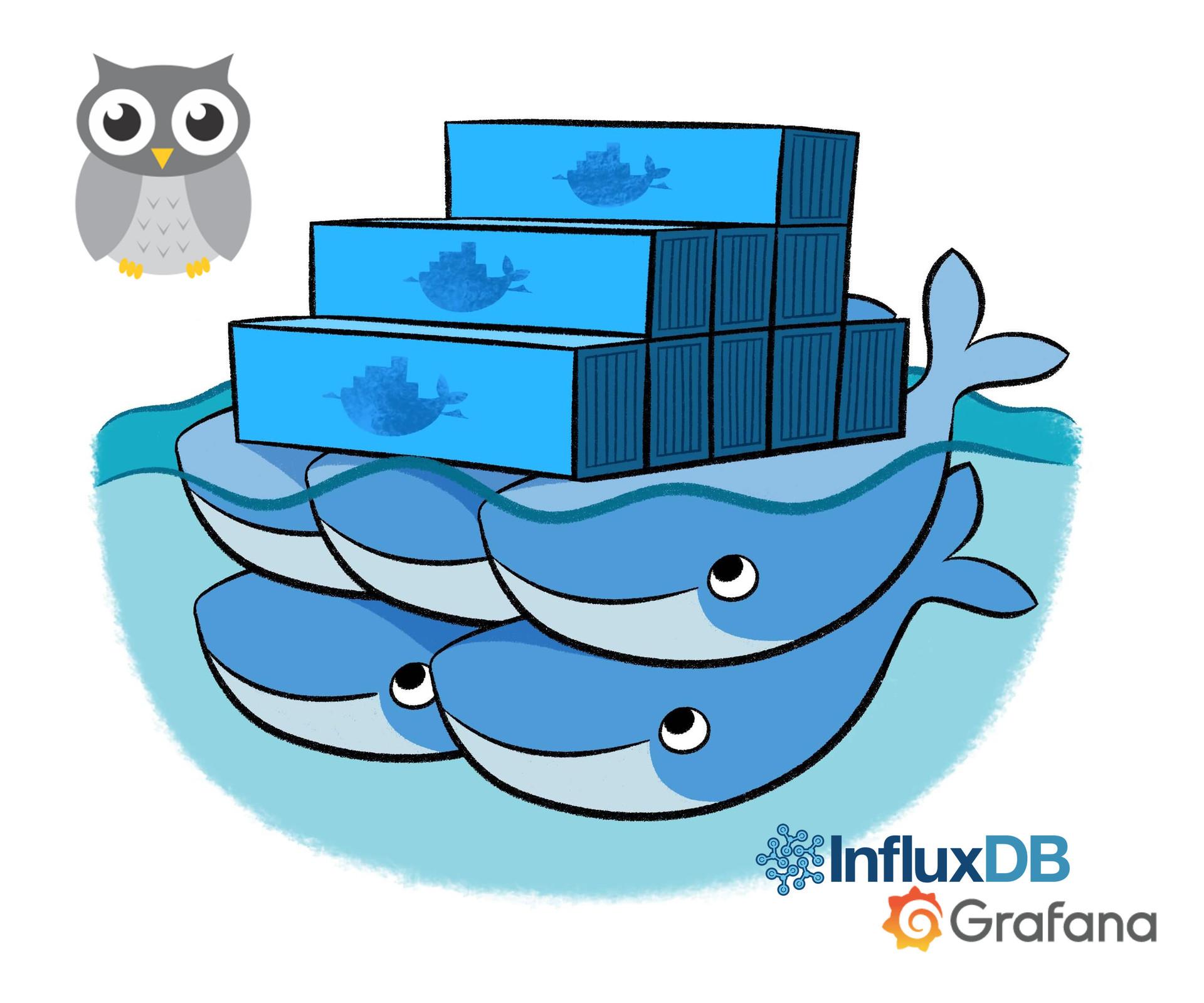 Мониторинг Docker Swarm с помощью cAdvisor, InfluxDB и Grafana