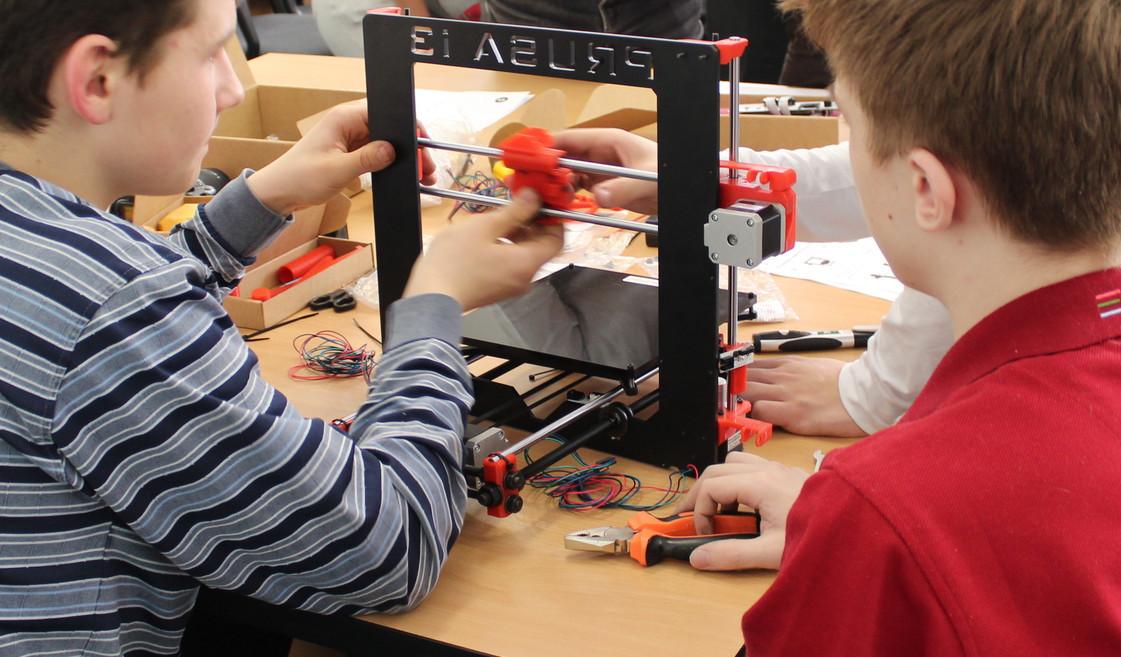 3D печать — в школы (техномарафон по сборке 3D-принтеров в Екатеринбурге)
