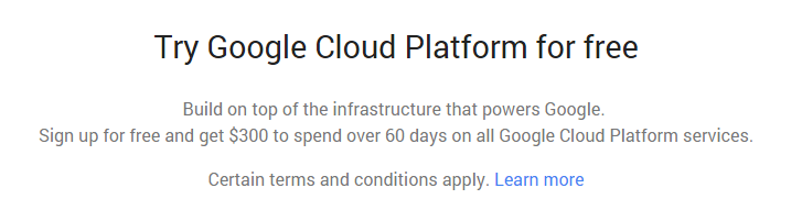 Халява от Google - 300$ на все облачные платформы   [Infoclub.PRO]