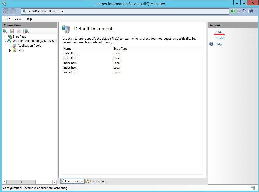 Развертываем WordPress на VPS с Windows Server 2012. Пошагов