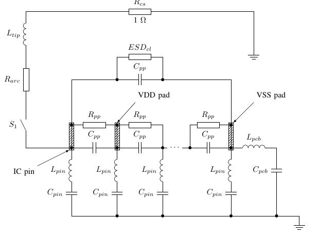 TikZ с библиотекой circuits