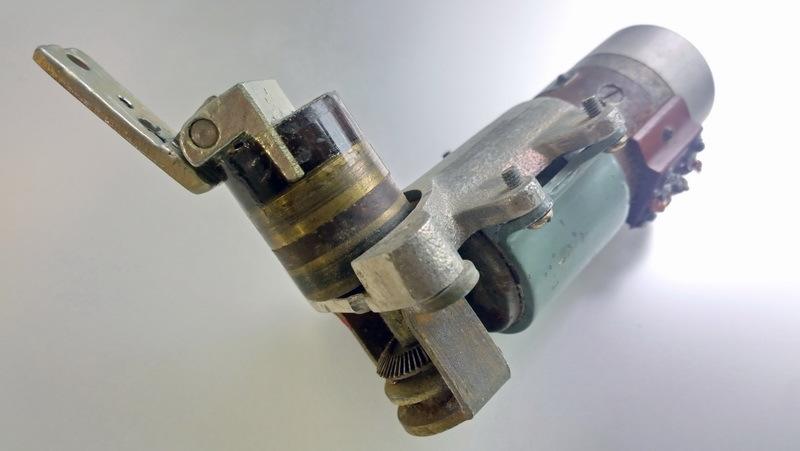 двигатель ДР-1,5РА с