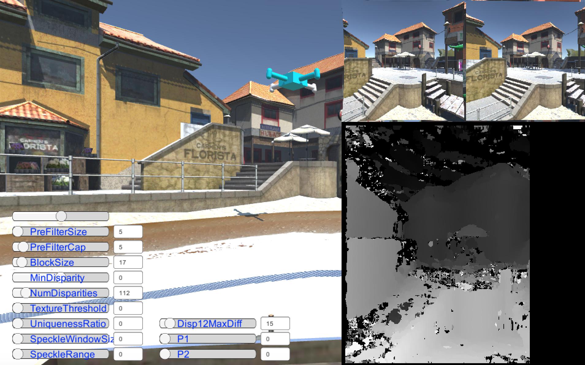 Парсер Хабра: Виртуальный квадрокоптер на Unity + OpenCV (Часть 3)
