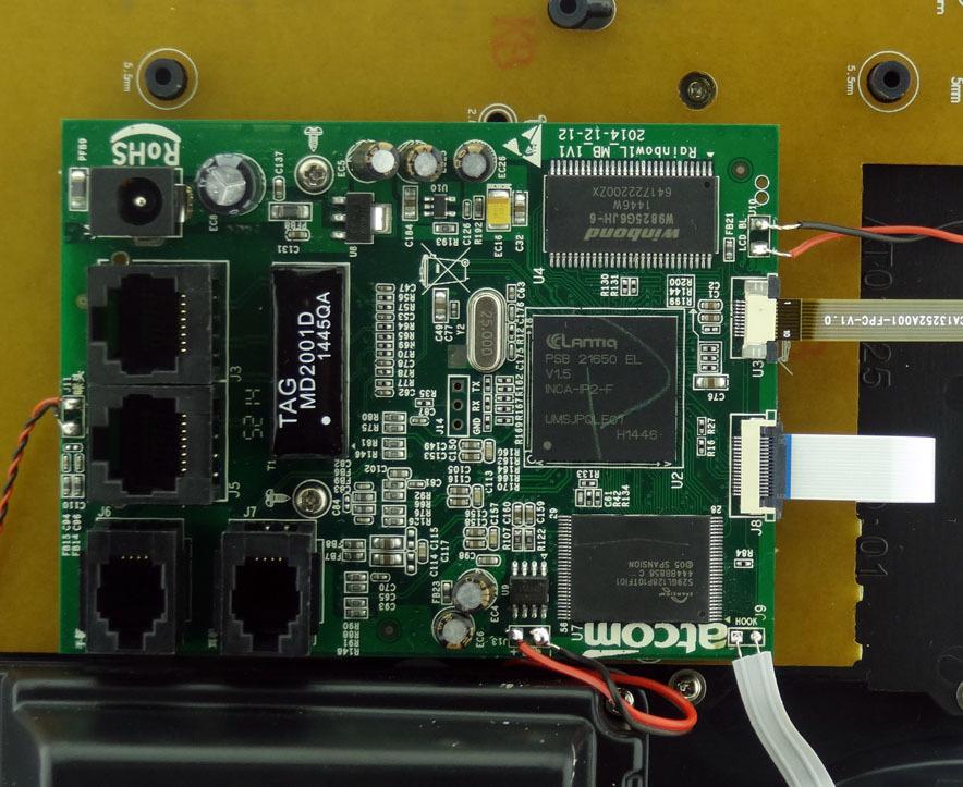 Обзор IP-телефона ATCOM R1L