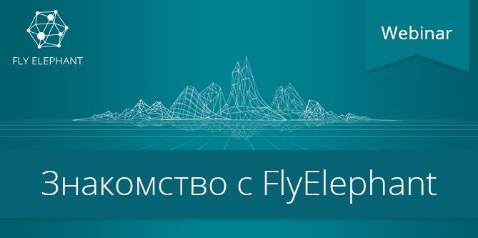 Вебинар «Знакомство с FlyElephant»