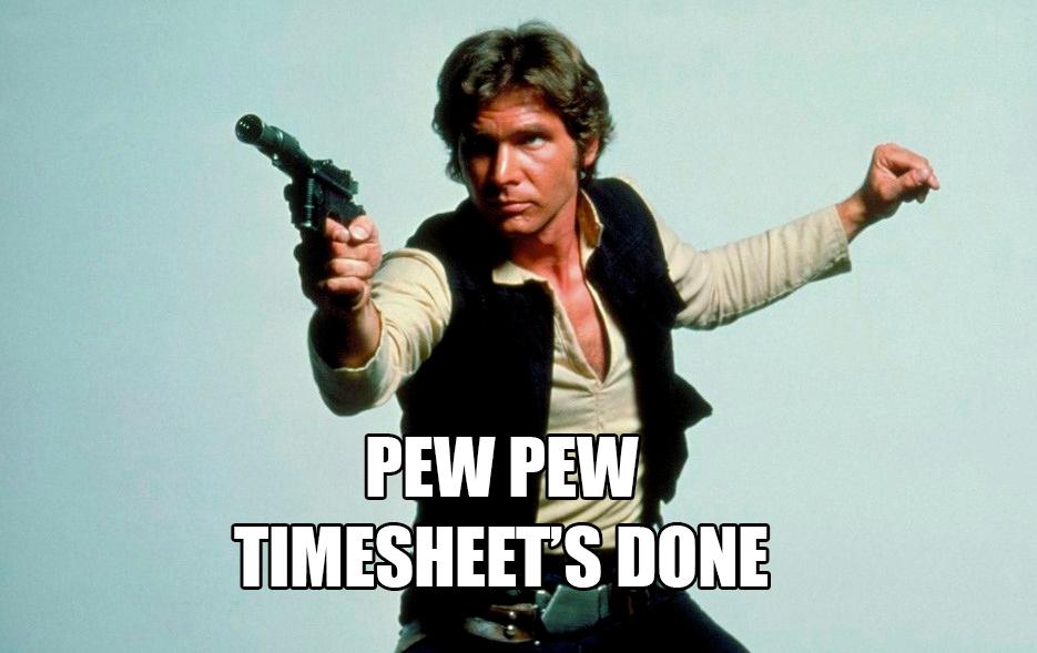 Как заполнить 100 таймшитов за 2 минуты