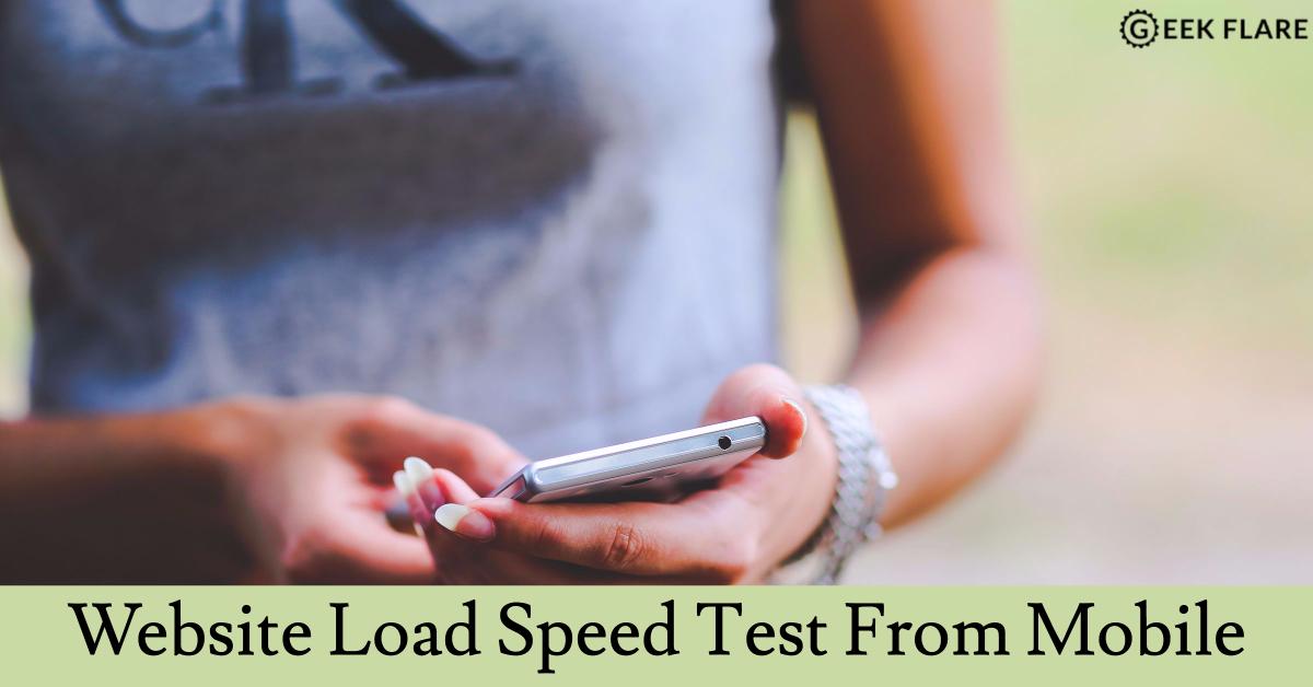 А вы знаете скорость загрузки вашего сайта с мобильных устройств? Самое время разобраться