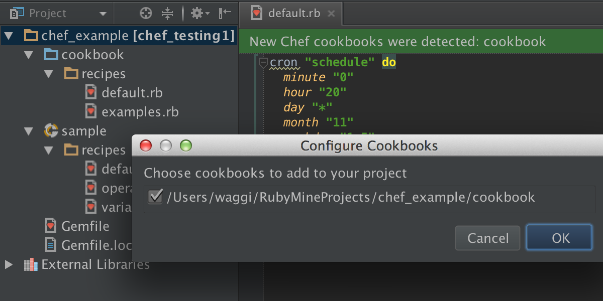 New Rubymine Version Chef Puppet Editorconfig And Many Other