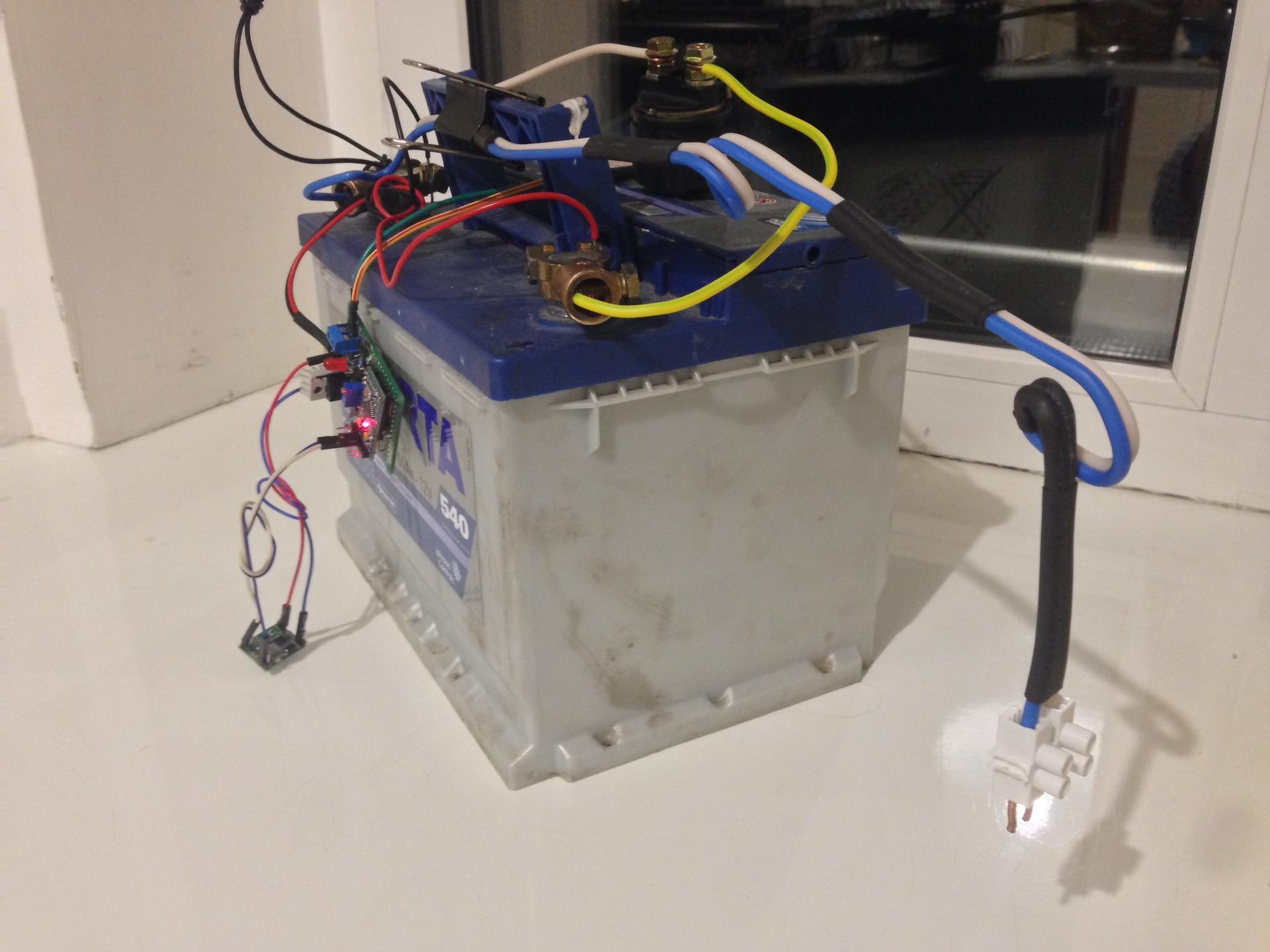 электрическая схема станка точечной сварки