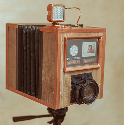 Делаем автономную фотобудку на raspberry pi