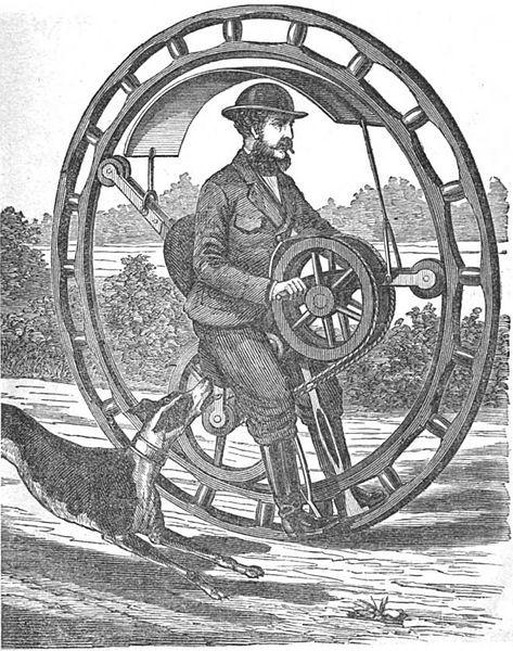 Городские парусники, транспорт будущего или укрощение моноколеса