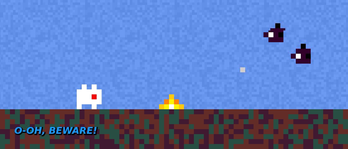 Скриншот ранней версии игры