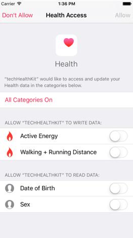 Work with HealthKit. Part 1
