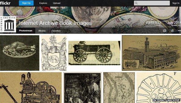 Internet Archive закачал на Flickr более 14 млн свободных исторических изображений