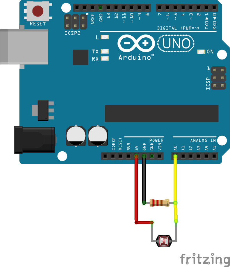 Laser communication between two arduino a morse code