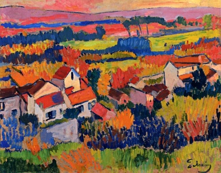 Andre Derain Landscape ear Chatou