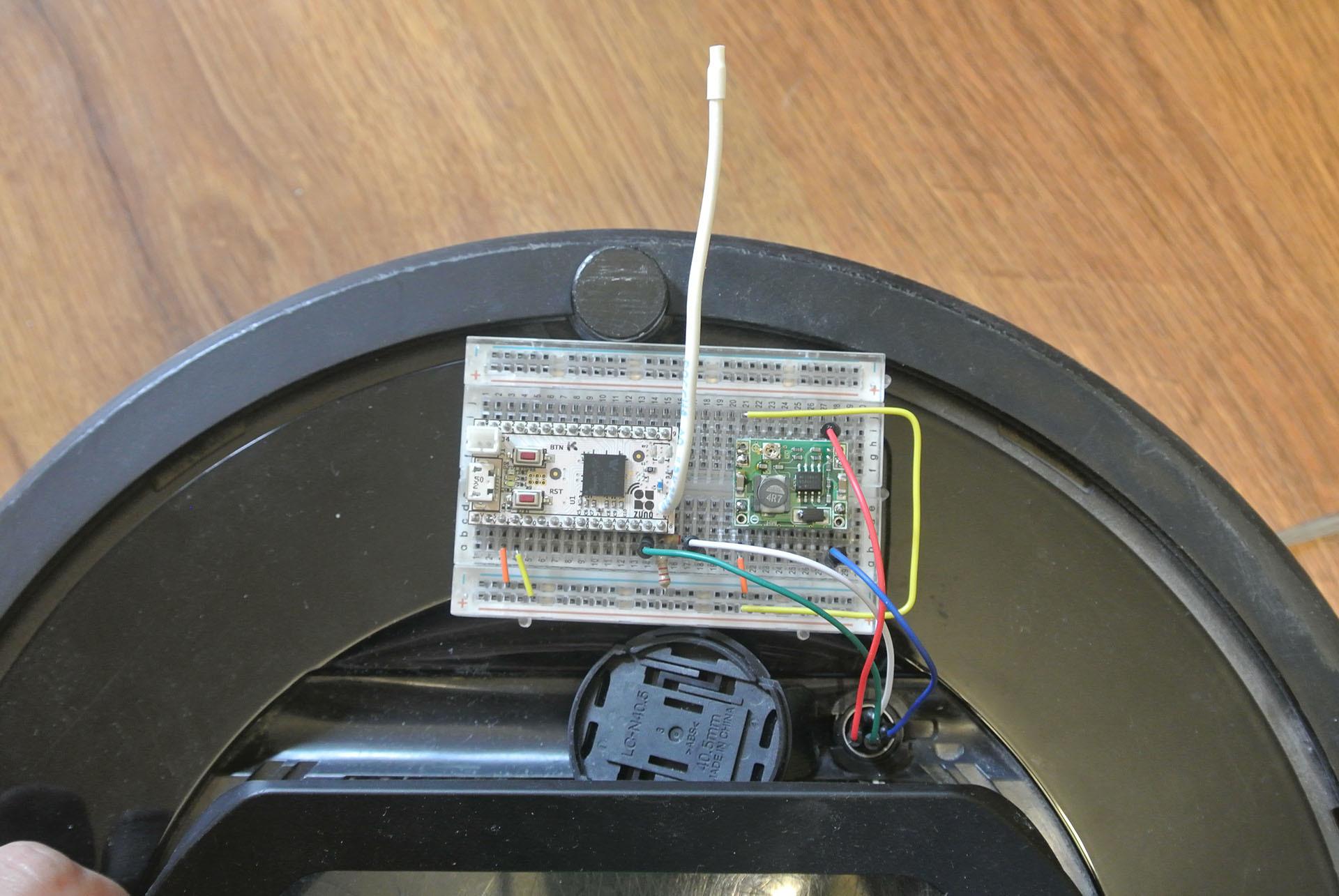 Разрабатываем Z-Wave устройство для управления пылесосом iRobot Roomba