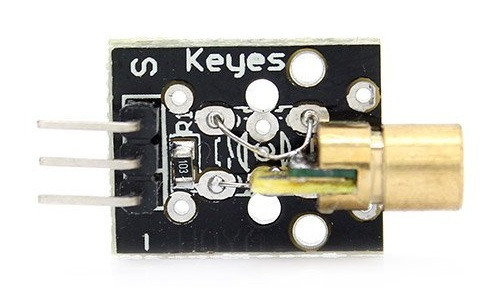 1 лазерный модуль KY-008: