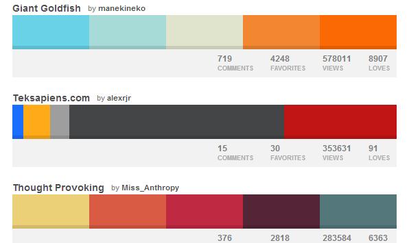 Сочетание цветов веб дизайн