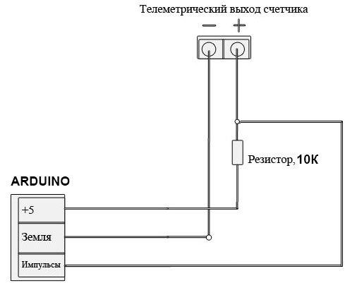 Схема для подключения к