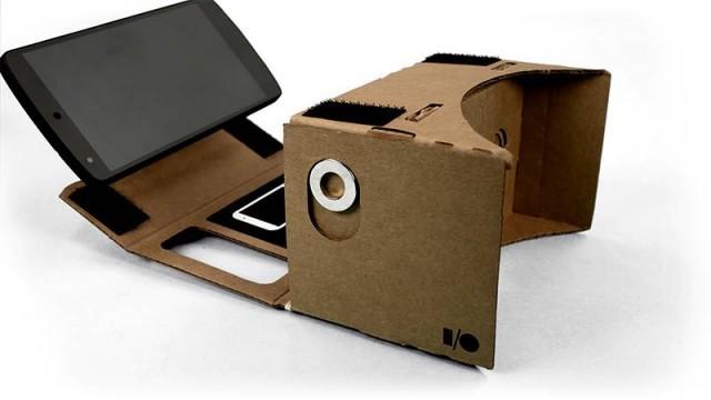 Фото очки виртуальной реальности из картона заказать очки гуглес для дрона в элиста