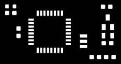 Surface Mount Stencil Example