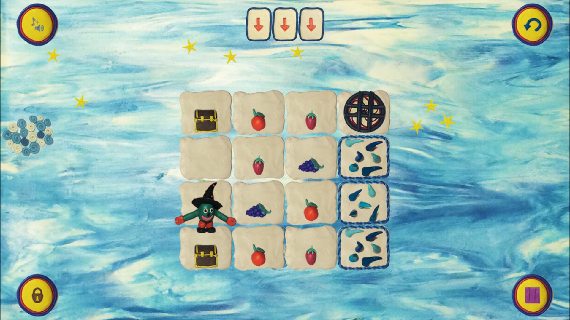 Разработка игры с использованием пластилиновой анимации