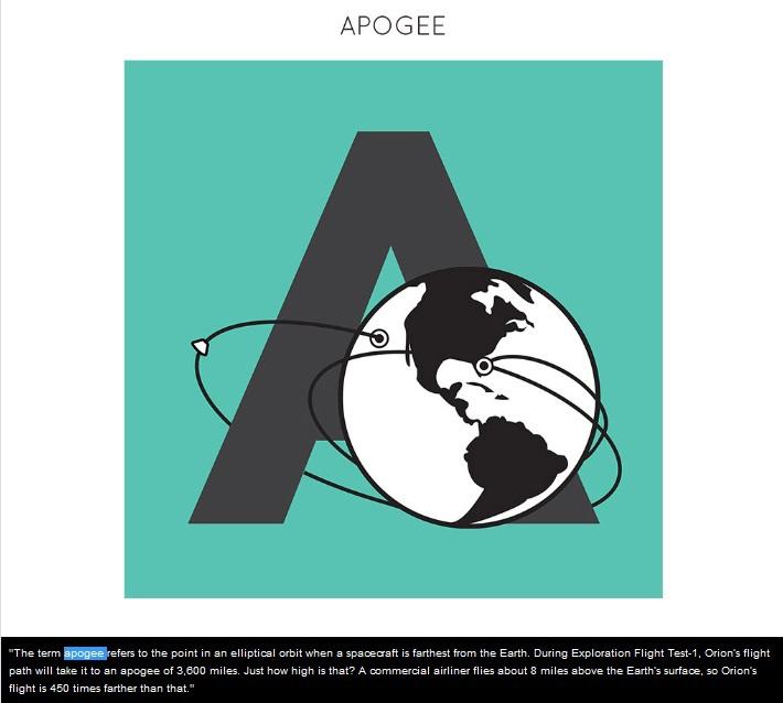 NASA готовит иллюстрированную «азбуку» по миссии Orion для детей и взрослых