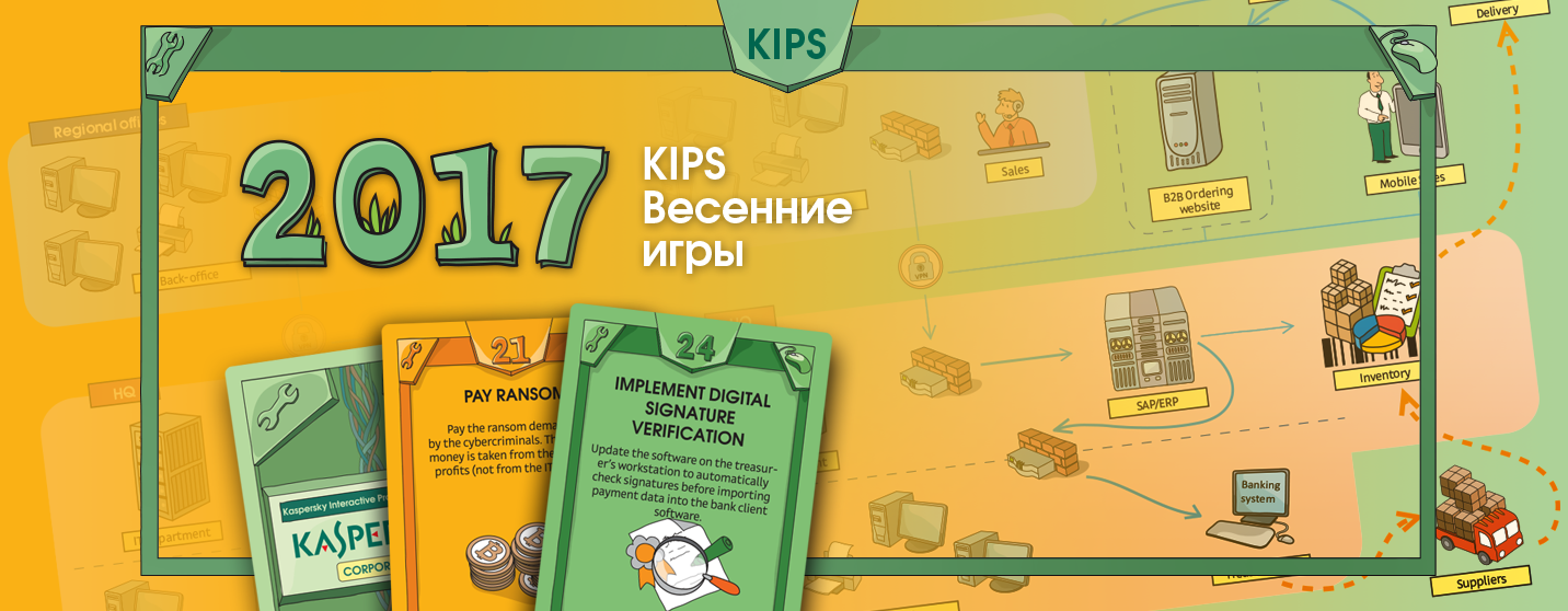 Весенние игры KIPS. Или осваиваем бюджет на ИБ в 250.000$