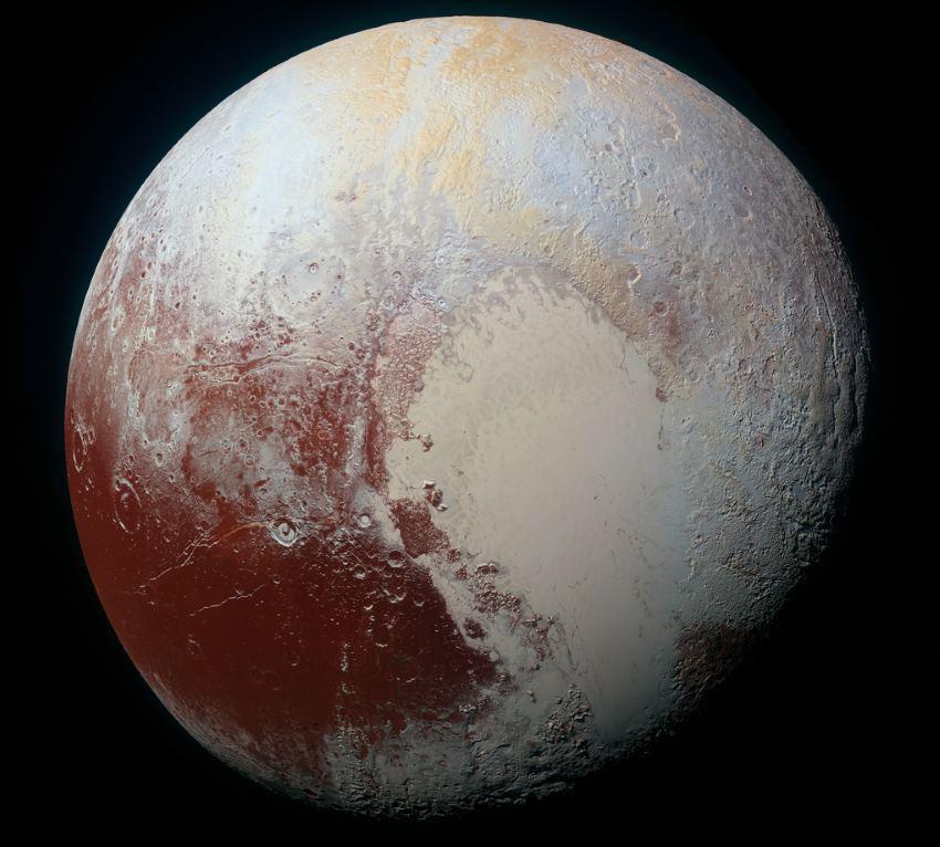 New Horizons прислал цветные фото Плутона высокого разрешения
