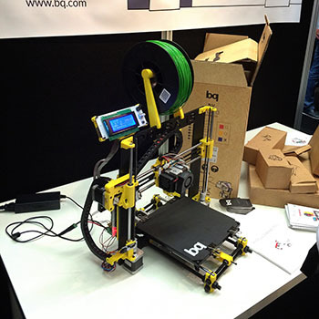 Prusa i3 Гефестос Hephestos DIY принтер от bq