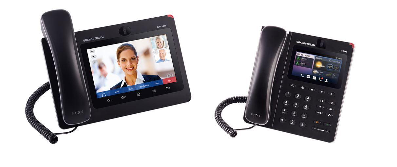Обзор новых телефонов Grandstream GXV3275 и GXV3240