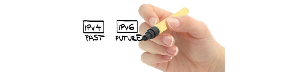 IPv4 - past, IPv6 - future