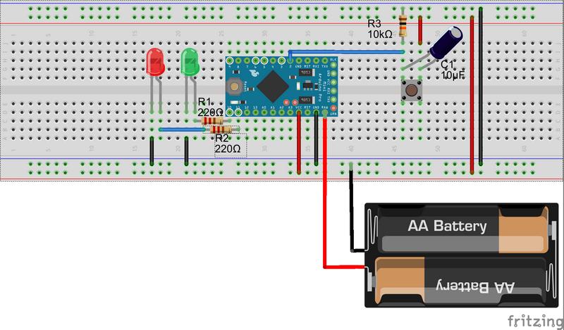 Arduino Playground - CapacitiveSensor
