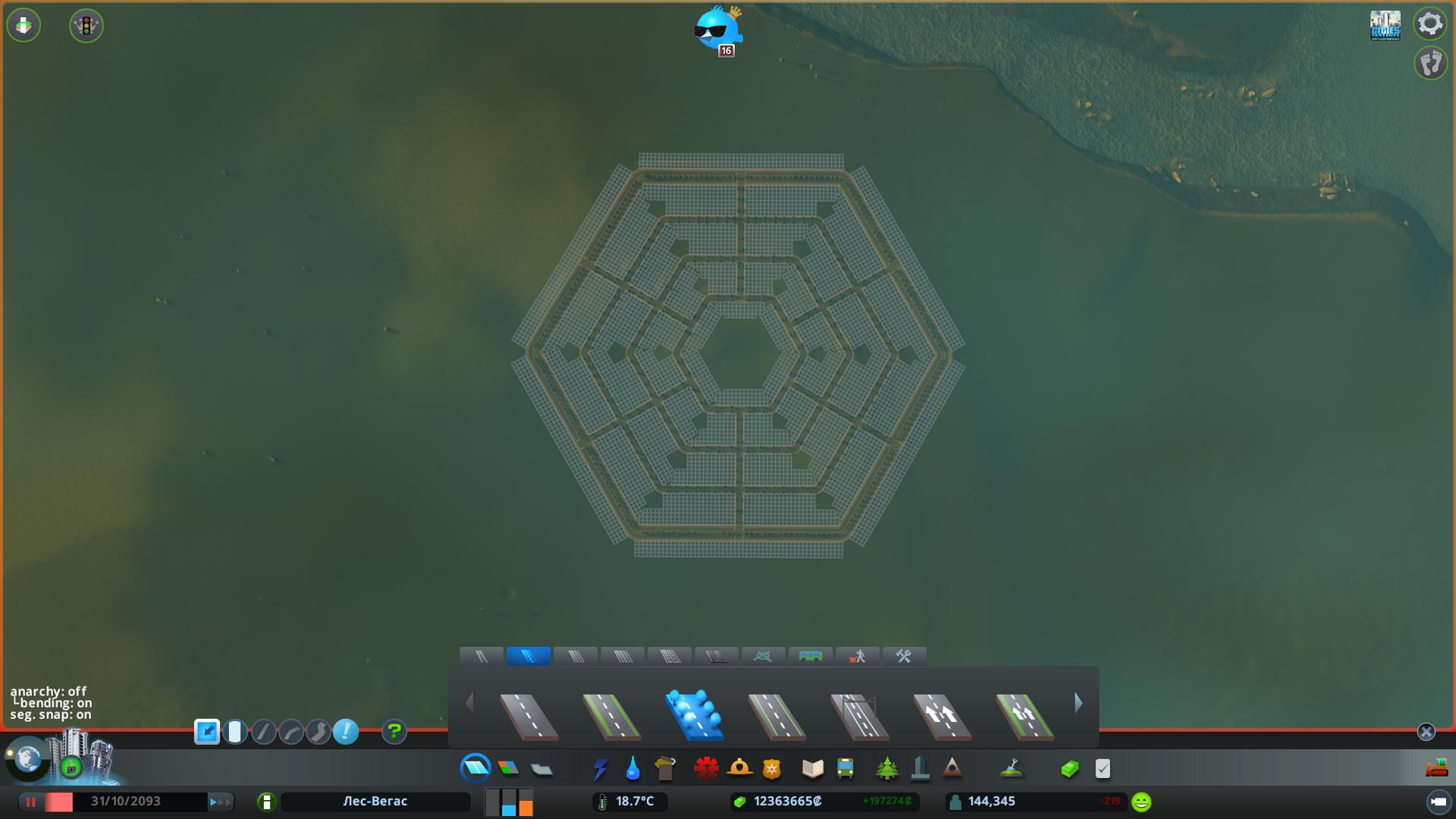 Hexagonal City